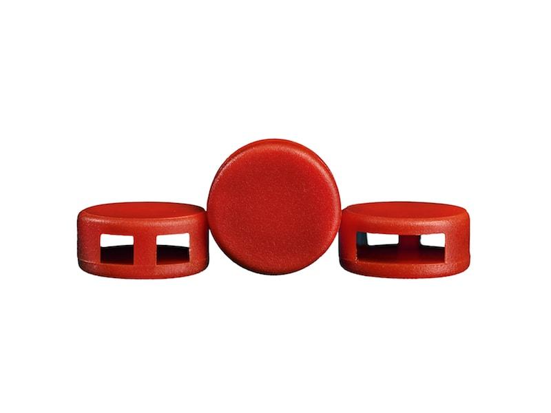 VFSECURE Kunststoffplomben rot