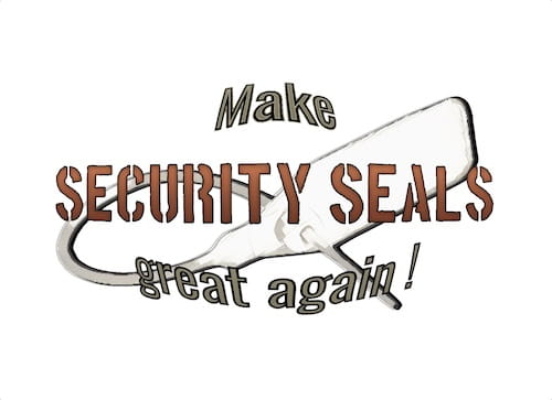 make SECURITY SEALS great again