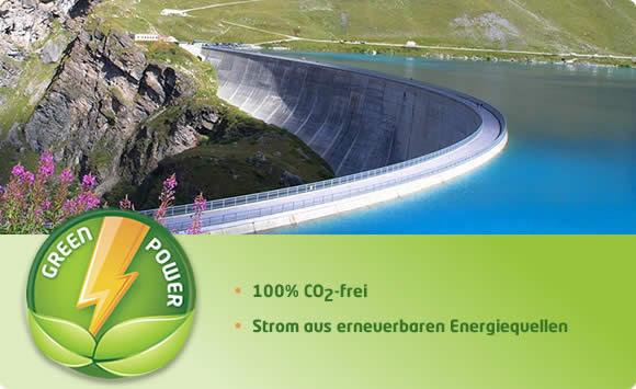 Ökostrom aus Wasserkraftwerken