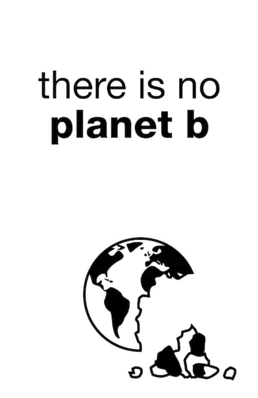 There is no planet B - VECTURAFAST Umweltschutz