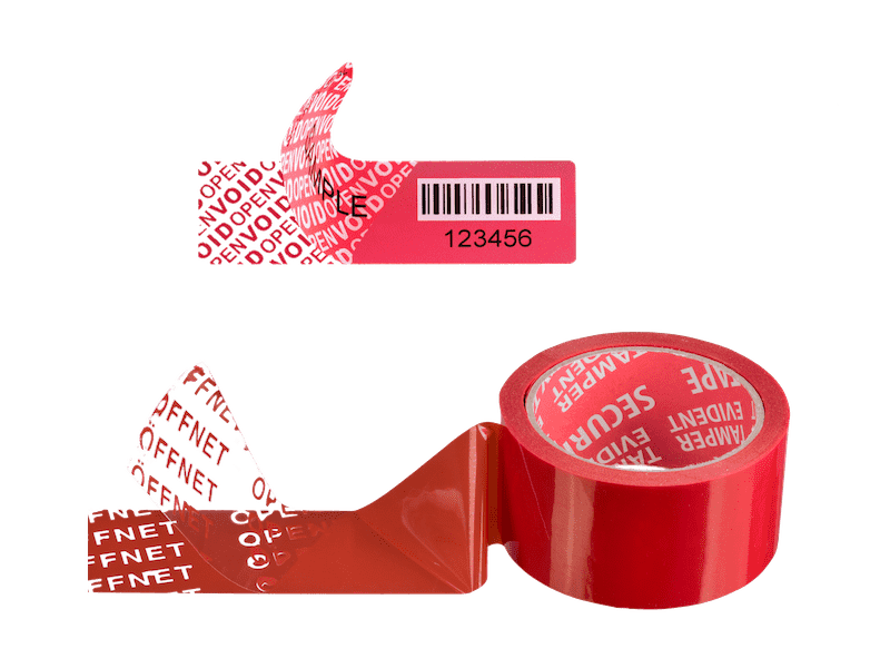 Set Security Label plus Secure Tape